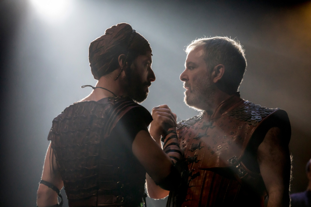 <p>Philip Arditti, Lloyd Hutchinson in  Salomé</p><br />© Johan Persson