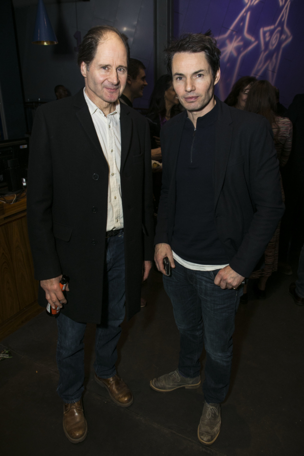 <p>Philip Bird (Sparrow/Stan) and Tam Williams</p><br />© Dan Wooller for WhatsOnStage