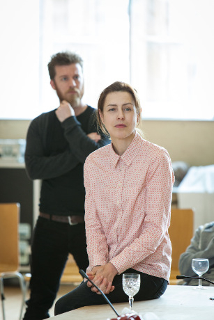 <p>Philip Cumbus and Gina McKee</p><br />© Marc Brenner