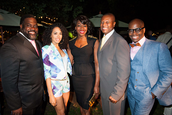 <p>Phillip Boykin, Jade Ewen, Nicola Hughes, Rufus Bonds Jr and Cedric Neal</p><br />© David Jenson