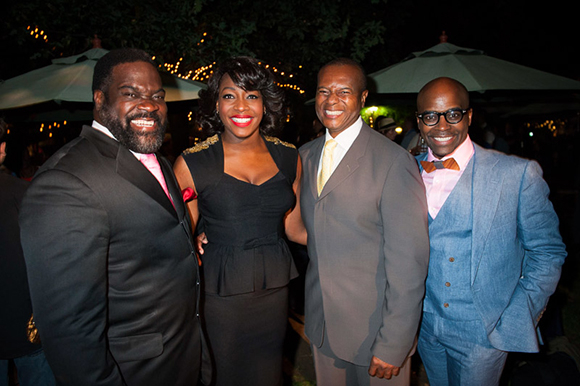 <p>Phillip Boykin, Nicola Hughes, Rufus Bonds Jr and Cedric Neal</p><br />© David Jenson