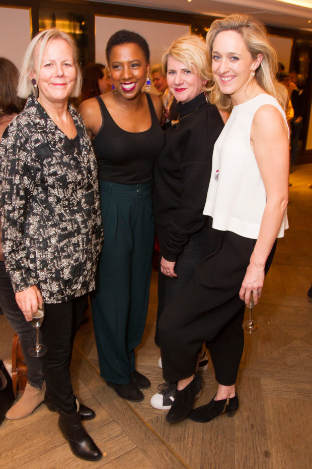 <p>Phyllida Lloyd, Jade Anouka, Jackie Clune and Kate Pakenham</p><br />© Dan Wooller for WhatsOnStage