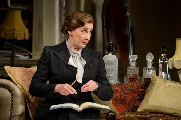 <p>Phyllis Logan as Monica Reed</p><br />© Nobby Clark