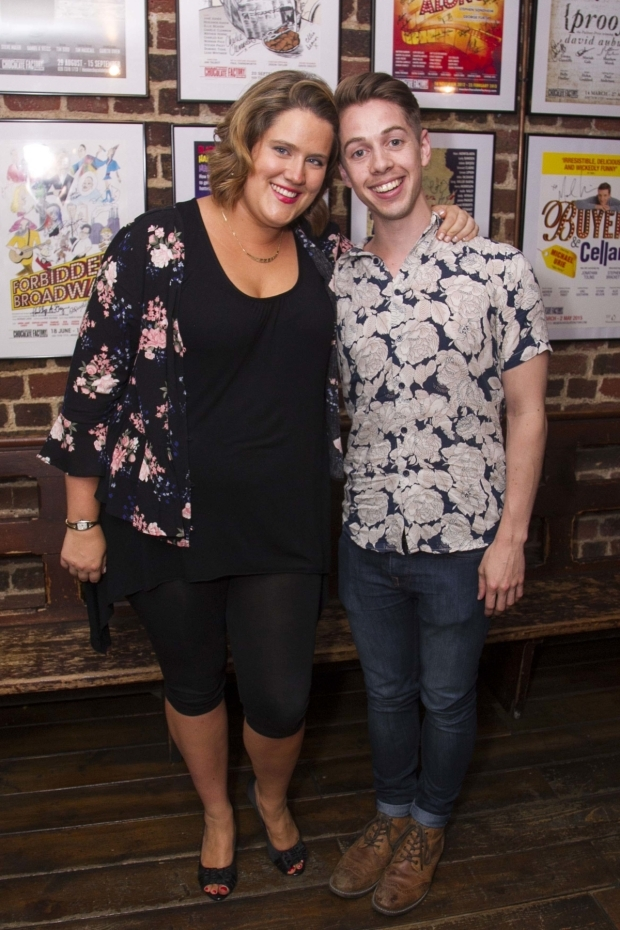 <p>Pippa Cleary (music/lyrics) and Jake Brunger (author/lyrics)</p><br />©Dan Wooller for WhatsOnStage