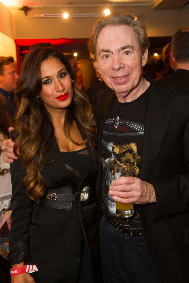 <p>Preeya Kalidas (Patty di Marco) and Andrew Lloyd Webber (music)</p><br />© Dan Wooller for WhatsOnStage