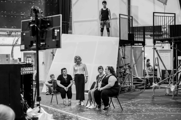 <p>Rachel Lumberg as Rachel, Emily Joyce as Heather, Jayne McKenna as Zoe &amp&#x3B; Alison Fitzjohn as Claire</p><br />© Matt Crockett