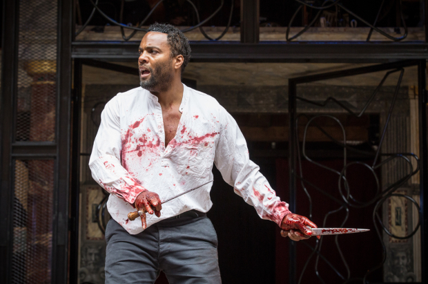 <p>Ray Fearon (Macbeth)</p><br />© Marc Brenner