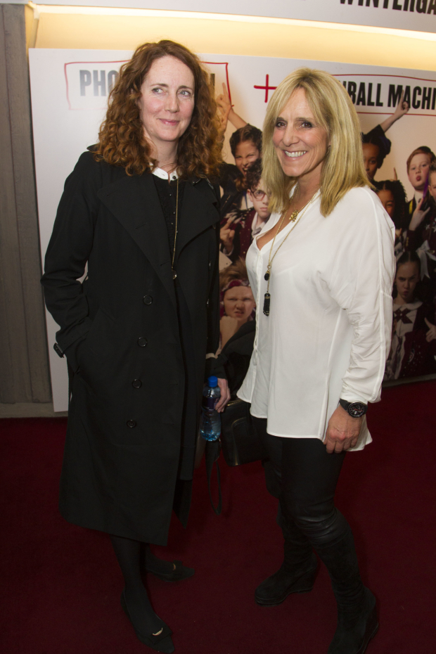 <p>Rebekah Brooks and Francie Clarkson</p><br />© Dan Wooller for WhatsOnStage