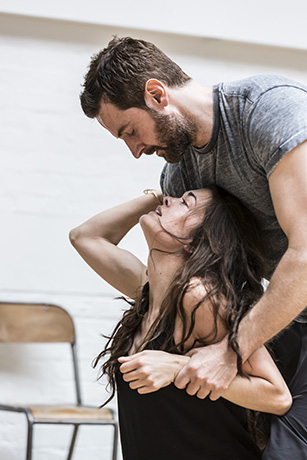 <p>Richard Armitage (John Proctor) and Samantha Colley (Abigail Williams) </p><br />© Johan Persson