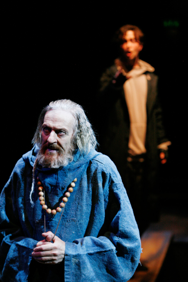 <p>Richard Bremmer &amp&#x3B; George Caple  in <em>Romeo and  Juliet</em></p><br />© Gary Calton