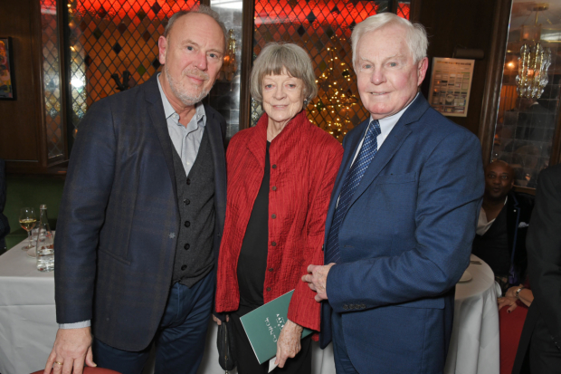 <p>Richard Clifford, Maggie Smith and Derek Jacobi </p><br />© Dave Benett