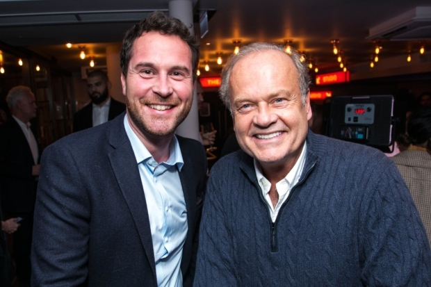 <p>Richard Darbourne (producer) and Kelsey Grammer (Edward Bloom)</p><br />© Dan Wooller for WhatsOnStage