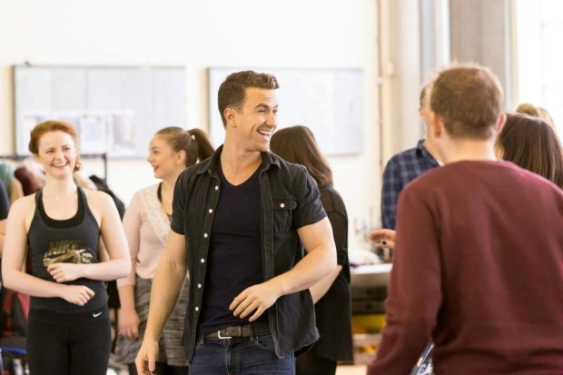 <p>Richard Fleeshman (George) and Company</p><br />© Johan Persson