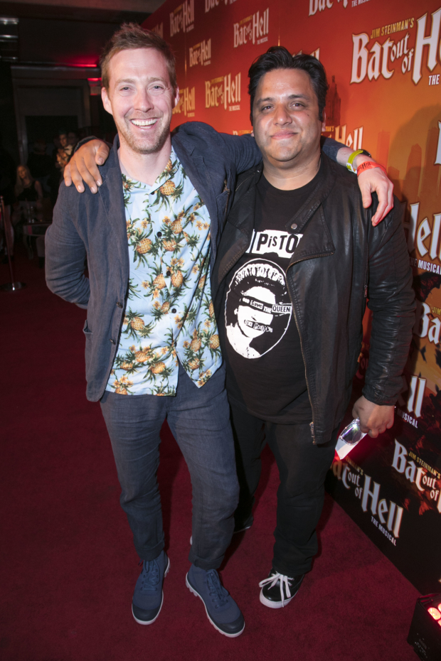 <p>Ricky Wilson and Nathan Amzi</p><br />© Dan Wooller for WhatsOnStage