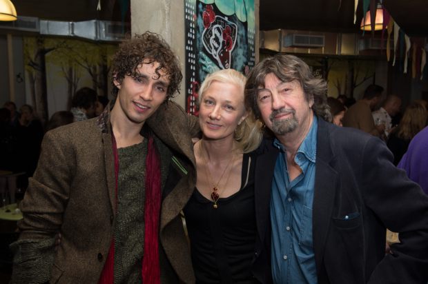 <p>Robert Sheehan, Joely Richardson and Trevor Nunn</p><br />© Trevor Aston