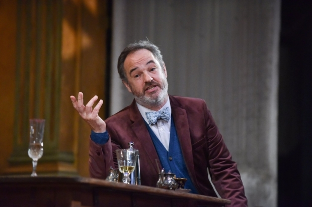 <p>Robin Kingsland as Leonid Gayev  in <em>The Cherry Orchard</em></p><br />© Robert Day
