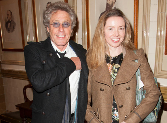 <p>Roger Daltrey and his daughter Rosie at the post-show party</p><br />© Dan Wooller for WhatsOnStage