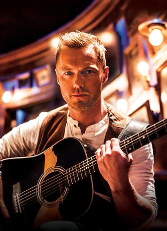 <p>Ronan Keating as Guy in <em>Once</em></p><br />© Hugo Glendinning