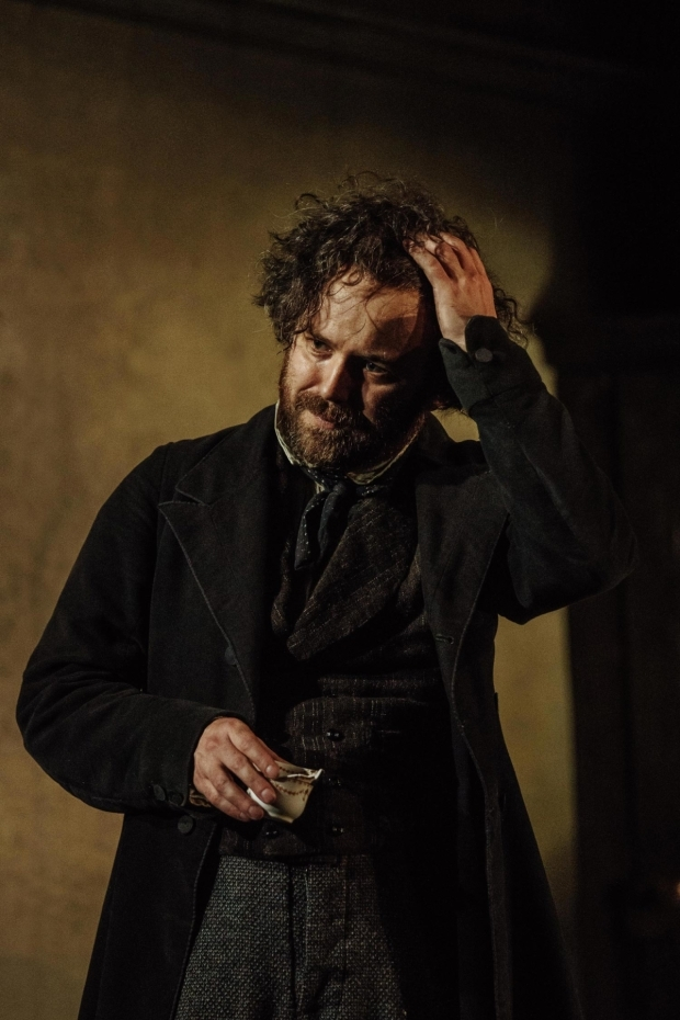 <p>Rory Kinnear in <em>Young Marx</em> in <em>Young Marx</em></p><br />© Manuel Harlan