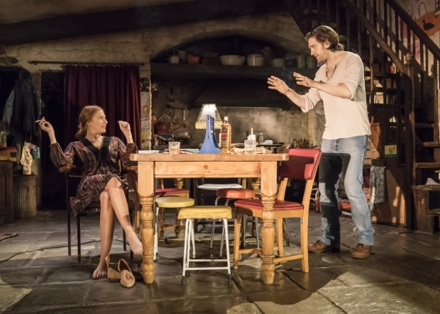 <p>Rosalie Craig and Owen McDonnell in <em>The Ferryman</em></p><br />© Johan Persson