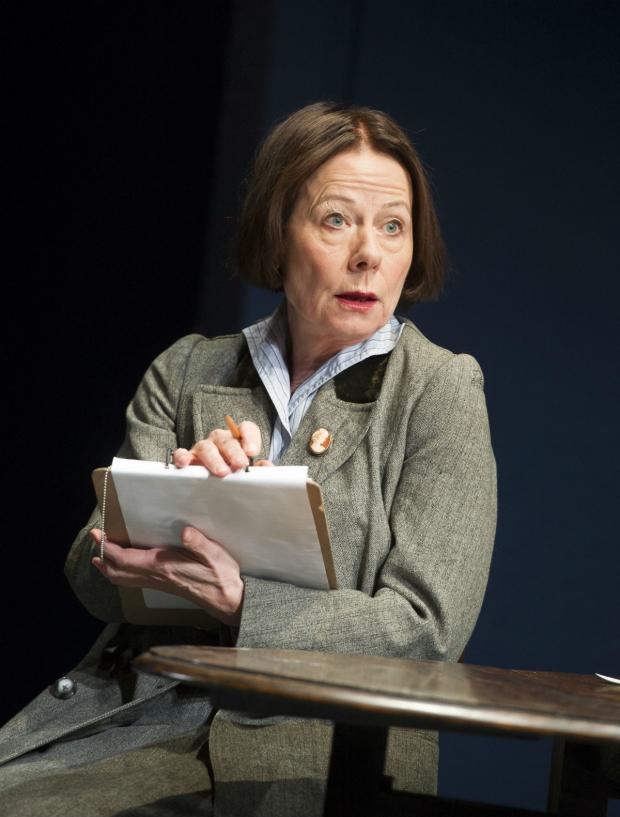 <p>Rosalind March (Blanche Patch) in <em>Lawrence After Arabia</em></p><br />© Alastair Muir