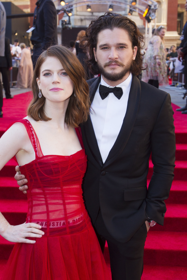 <p>Rose Leslie and Kit Harington</p><br />© Dan Wooller for WhatsOnStage