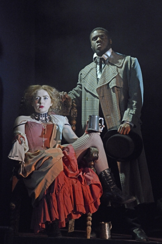 <p>Rosella-Doda and Marc Benga in <em>Jekyll and Hyde</em></p><br />©Nobby Clark