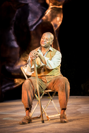 <p>Rufus Bonds Jr as Porgy</p><br />© Johan Persson