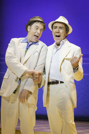 <p>Rufus Hound and Robert Lindsay</p><br />© Johan Persson