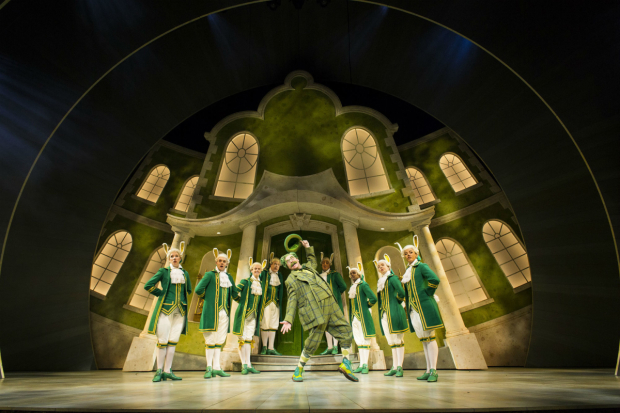 <p>Rufus Hound as Mr Toad in <em>The Wind in the Willows</em></p><br />Helen Maybanks