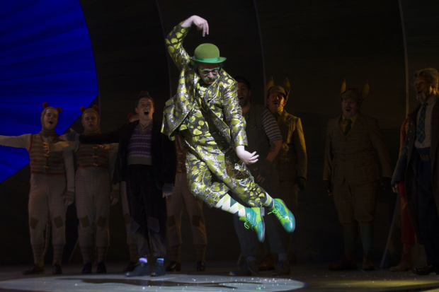 <p>Rufus Hound (Mr Toad)</p><br />© Dan Wooller for WhatsOnStage