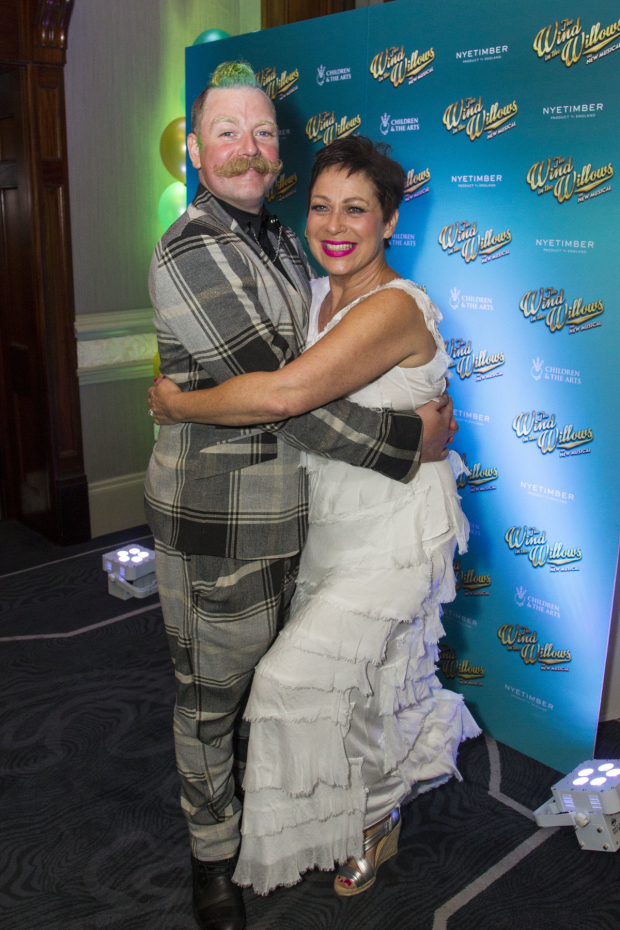 <p>Rufus Hound (Mr Toad) and Denise Welch (Mrs Otter) </p><br />© Dan Wooller for WhatsOnStage
