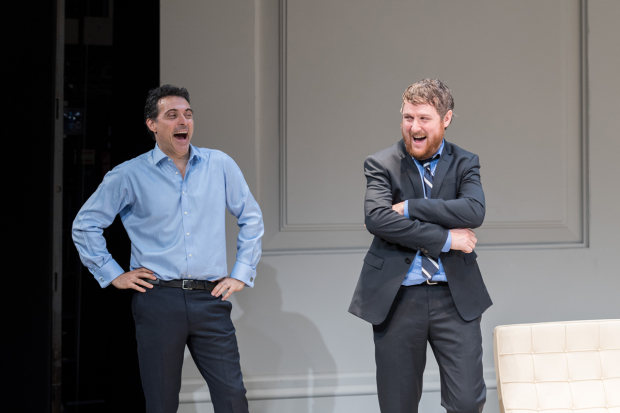 <p>Rufus Sewell (Serge) and Tim Key (Yvan)</p><br />© Manuel Harlan
