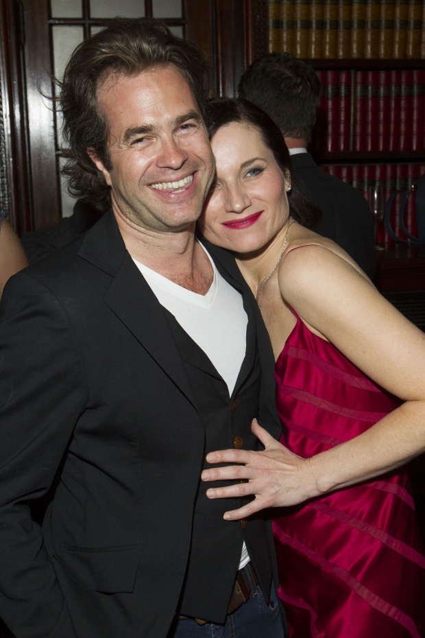 <p>Rupert Goold and Kate Fleetwood (Tracy Lord)</p><br />© Dan Wooller for WhatsOnStage