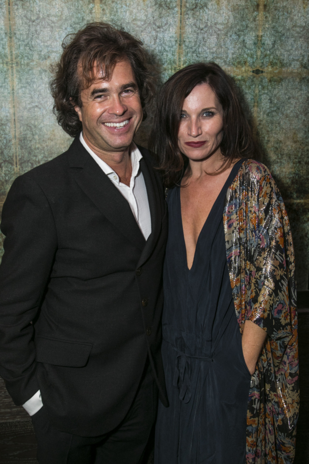<p>Rupert Goold (director) and Kate Fleetwood</p><br />© Dan Wooller