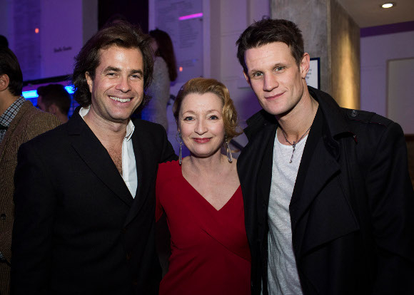<p>Rupert Goold, Lesley Manville and Matt Smith</p><br />© Helen Maybanks