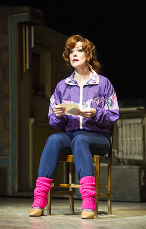 <p>Ruthie Henshall (Mrs Wilkinson) in <em>Billy Elliot</em></p><br />© Alastair Muir