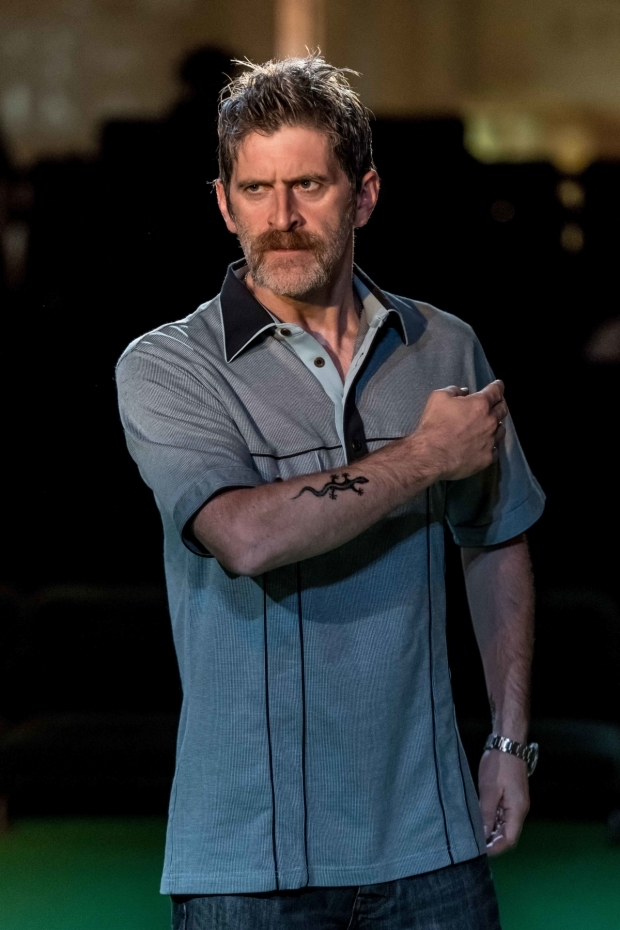 <p>Ryan Pope as Steve Hubbell in <em>A Streetcar Named Desire</em></p><br />© Manuel Harlan