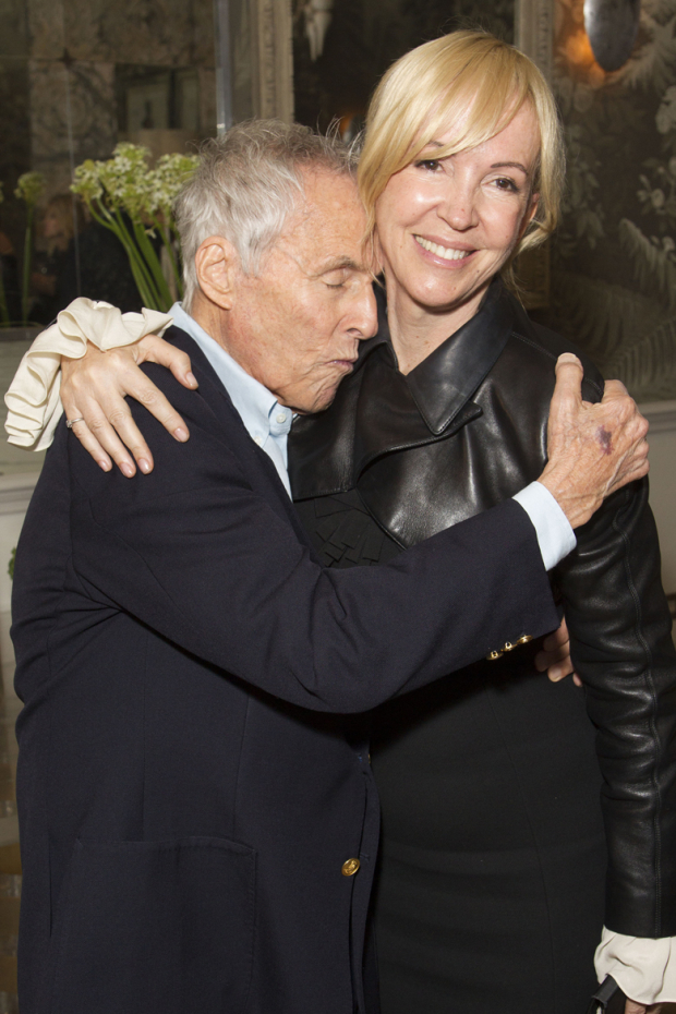 <p>Sally Greene (producer) and Burt Bacharach</p><br />© Dan Wooller for WhatsOnStage