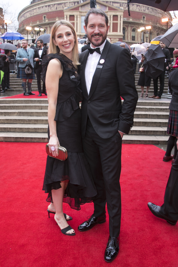 <p>Sally Scott and Bertie Carvel</p><br />© Dan Wooller