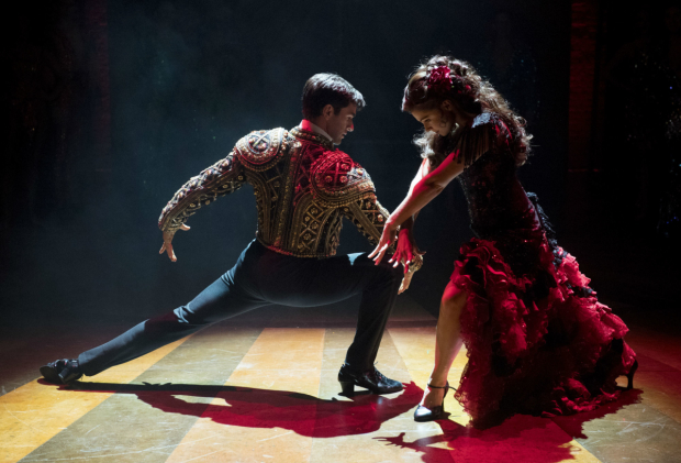 <p>Sam Lips as Scott Hastings and Gemma Sutton as Fran</p><br />(c) Alastair Muir