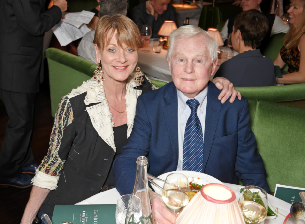 <p>Samantha Bond and Derek Jacobi</p><br />© Dave Benett