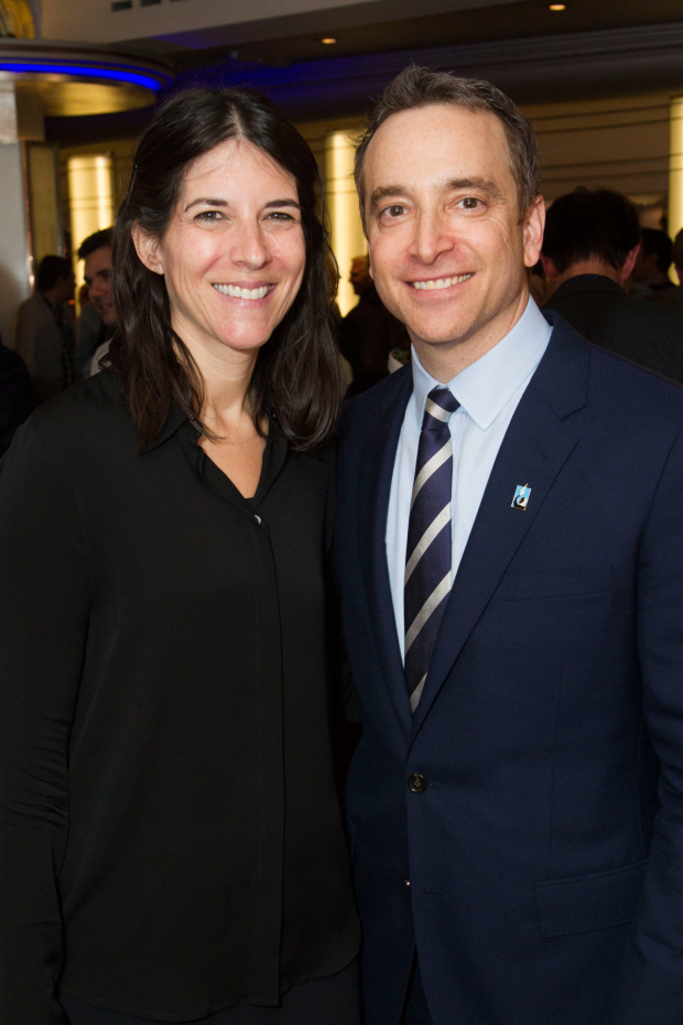 <p>Samantha Cohen and Drew H Cohen</p><br />© Dan Wooller for WhatsOnStage
