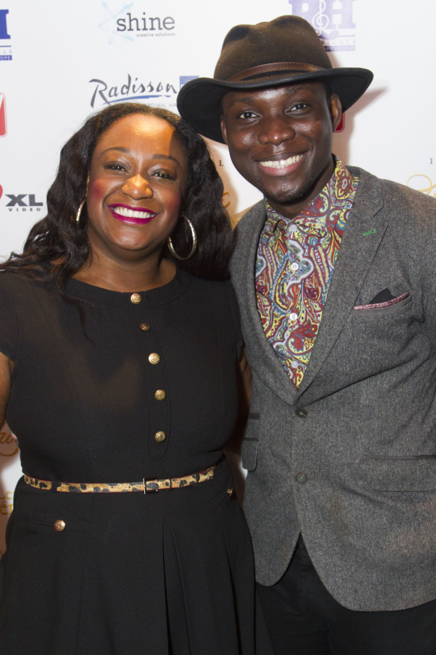 <p>Sandra Marvin and Emmanuel Kojo</p><br />© Dan Wooller For WhatsOnStage