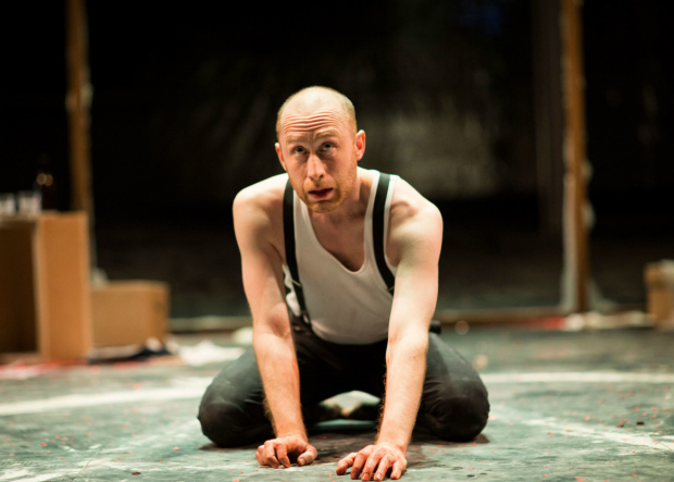 <p>Sandy Grierson  in <em>Doctor Faustus</em></p><br />© Helen Maybanks/RSC