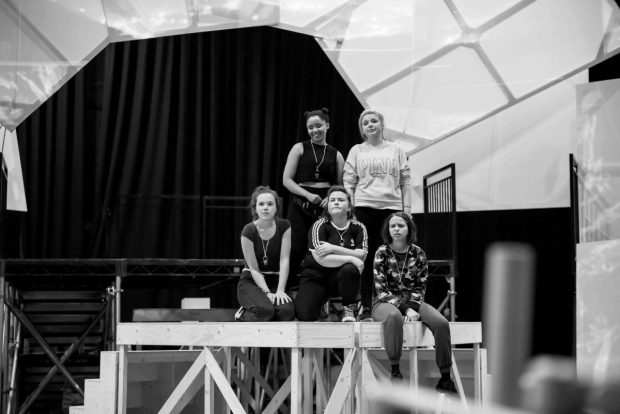 <p>Sarah Kate Howarth, Rachelle Diedericks, Faye Christall, Katy Clayton &amp&#x3B; Lauren Jacobs</p><br />© Matt Crockett