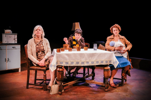 <p>Sarah Parks, Hester Arden and Rachel Dale in <em>The Gaul</em></p><br />© Andrew Billington