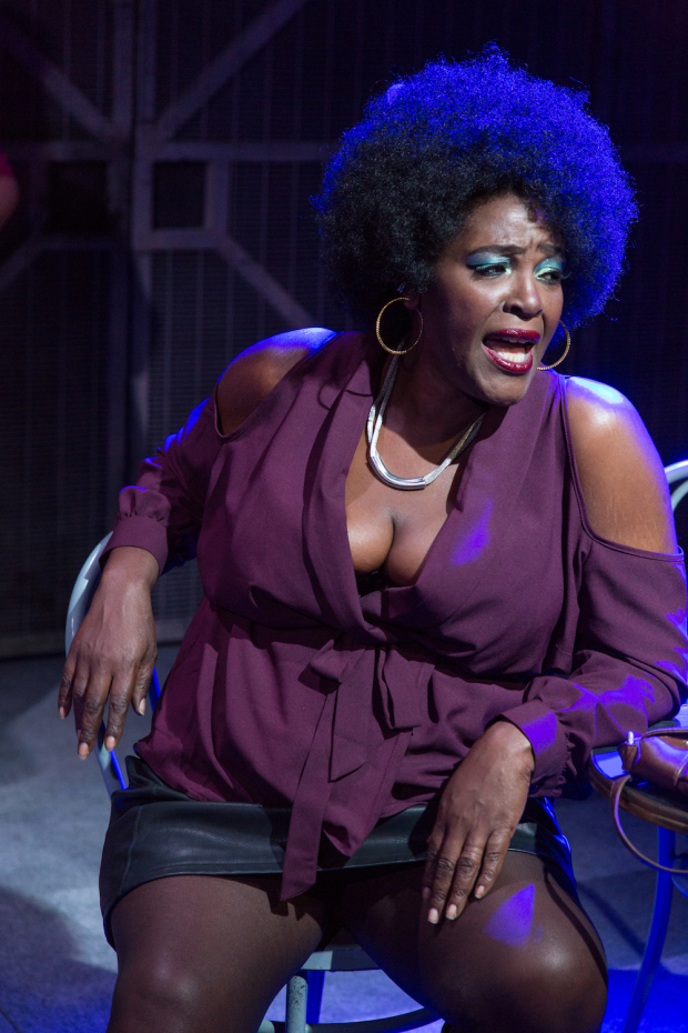 <p>Sharon D Clarke (Sonja) in <em>The Life</em></p><br />© Conrad Blakemore