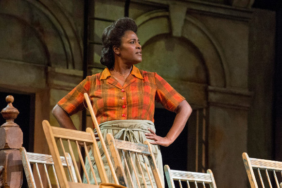 <p>Sharon D Clarke won Best Actress in a Supporting Role for her performance in &#39&#x3B;&#39&#x3B;The Amen Corner at the National Theatre</p><br />© Richard H Smith