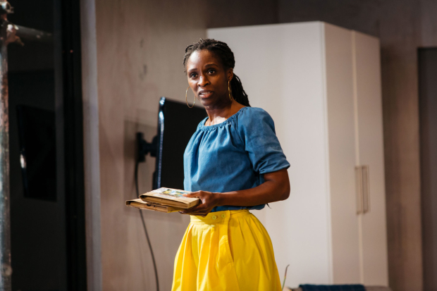 <p>Sharon Duncan-Brewster in <em>Victory Condition</em></p><br />© Helen Murray